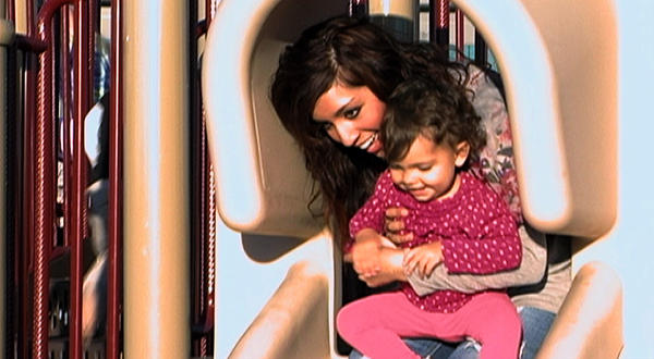Farrah Abraham and Child