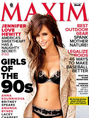 Jennifer Love Hewitt Maxim Cover