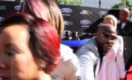 "Tameka ""Tiny"" Cottle: TI's Wife Runs From Floyd Mayweather on BET Awards Red Carpet"