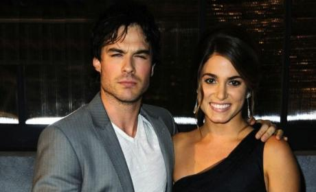 Mr. and Mrs. Somerhalder