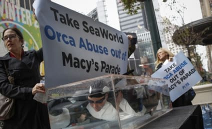 Macy's Under Fire For SeaWorld Float at Thanksgiving Parade