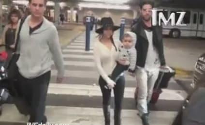 Scott Disick Blows Up, Kourtney Kardashian Pleads with Paparazzi