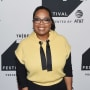 Oprah Winfrey in Yellow and Black