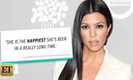 Kourtney Kardashian: Dating Again! Happier Than EVER!