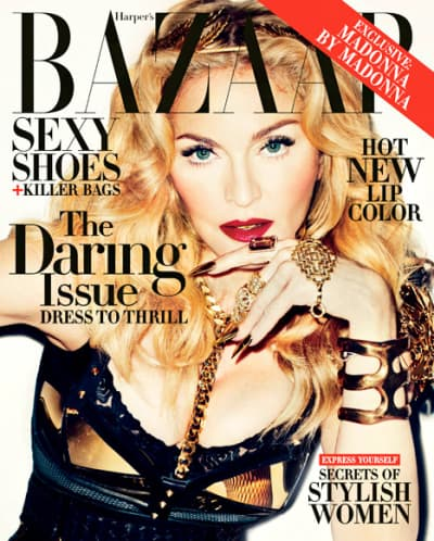 Madonna Harper's Bazaar Cover