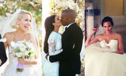 32 Celebrity Wedding Dresses We Adore