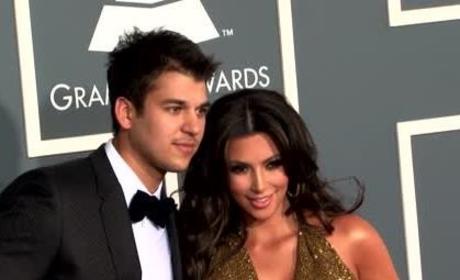 Kim Kardashian Defends Rob, Slams Adrienne Bailon