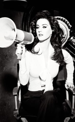 Katy Perry in Black and White
