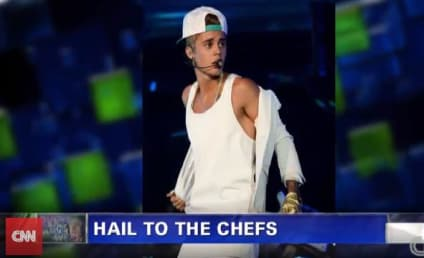 Mario Batali on Justin Bieber Pee Gate: I'd Kick His Rear End!