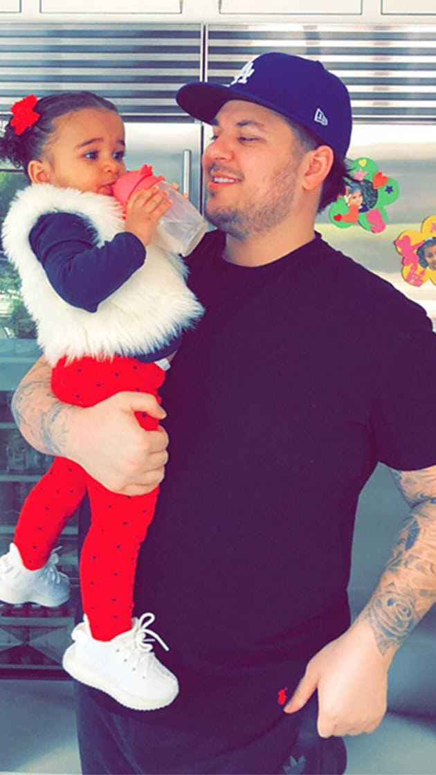 Rob Kardashian Shares Rare Pics of Daughter Dream, and We ...