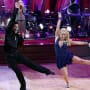 Sabrina Bryan and Mark Ballas on Dancing With The Stars