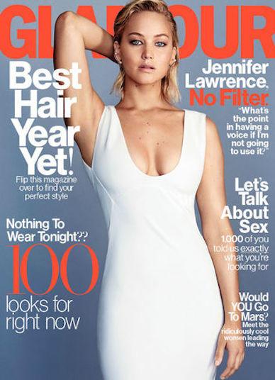Jennifer Lawrence Glamour Photo
