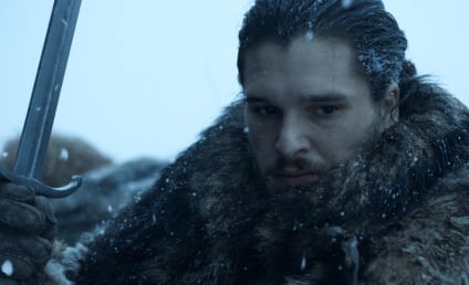 Game of Thrones Photo Preview: Holy Flaming Sword!