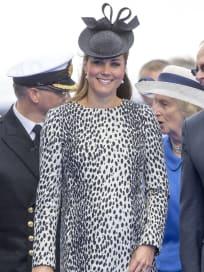 Kate Middleton Black and White Dress