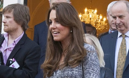 Kate Middleton: Nervous About Giving Birth!