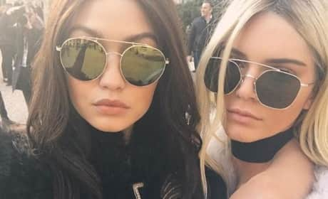 Kendall Jenner & Gigi Hadid Compare Boobs, Make the Internet a Better Place