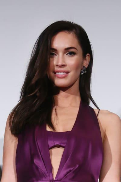 Megan Fox in Purple