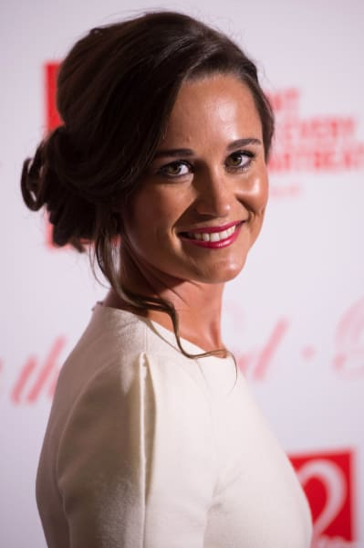 Pippa Middleton with a Smile