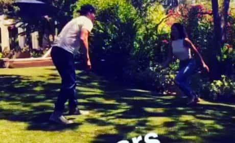 Channing Tatum and Jenna Tatum Recreate Iconic Step Up Dance