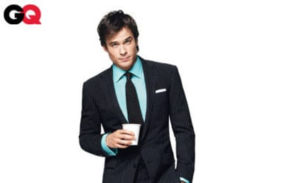 Ian Somerhalder in GQ: 13-Year Old Girls Love Me!