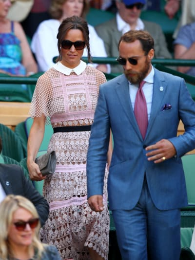 Pippa Middleton and Bearded James Matthews