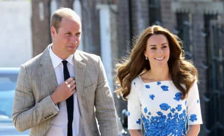 Prince William Kate Middleton Luton Visit