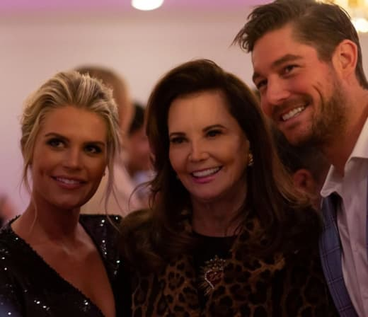 Madison LeCroy, Patricia Altschul, and Craig Conover
