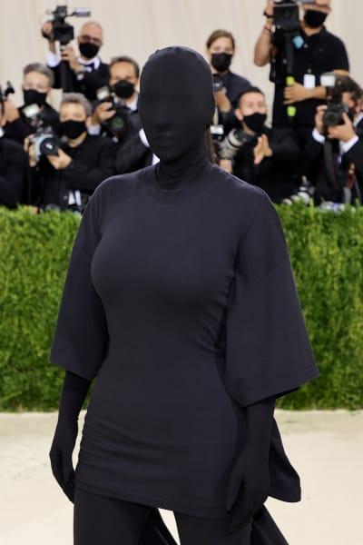 Kim Kardashian at 2021 MET Gala