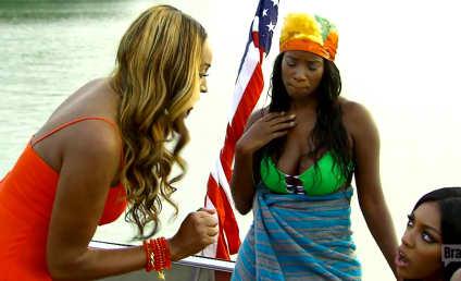 RHOA: Cynthia Bailey Flips Out on Porsha Williams