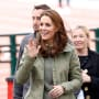 Kate Middleton Waves Hi