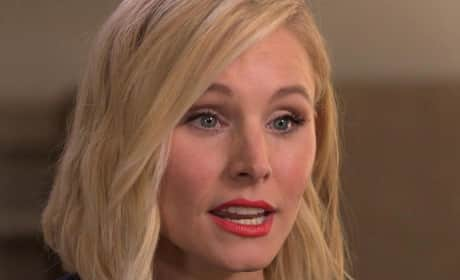 Kristen Bell Reveals Wedding Dress, Talks Dax Shepard Addiction