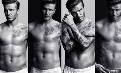 David Beckham Underwear Pics: The Whole Package