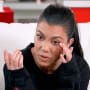 Kourtney Kardashian is Sad