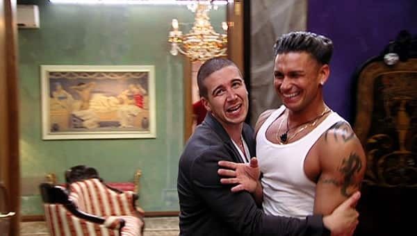 Pauly D and Vinny Love