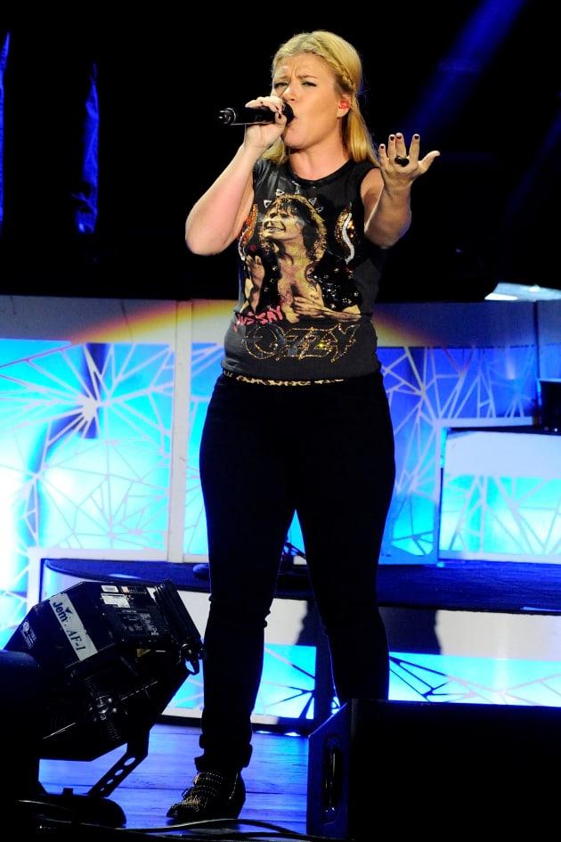 Kelly Clarkson in Toronto