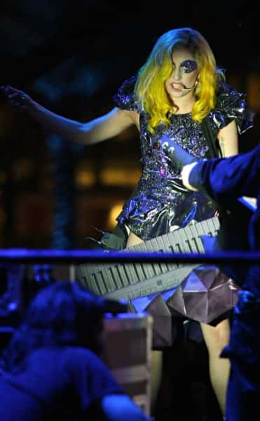 Gaga For New Year's