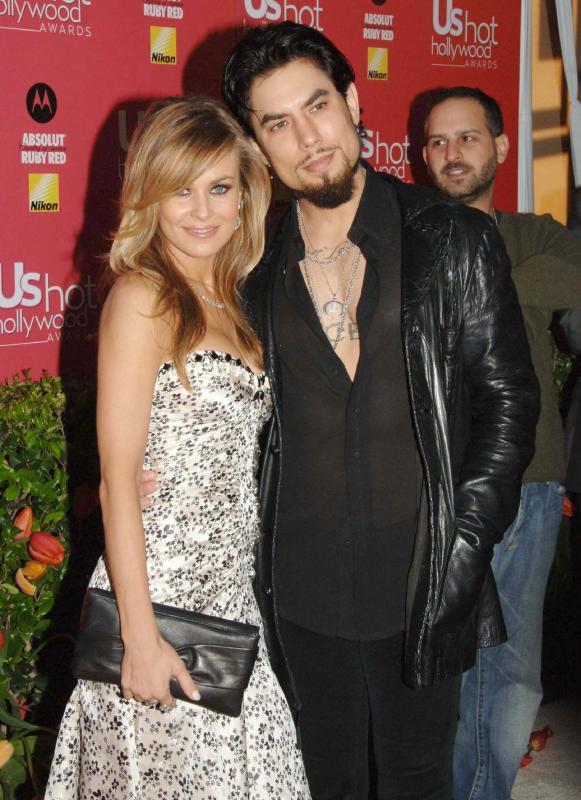 Carmen Electra and Dave Navarro