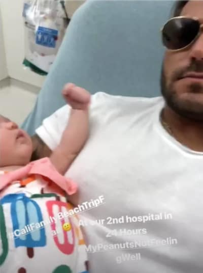 Ronnie Ortiz-Magro, Daughter