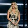 Carrie Underwood Cries