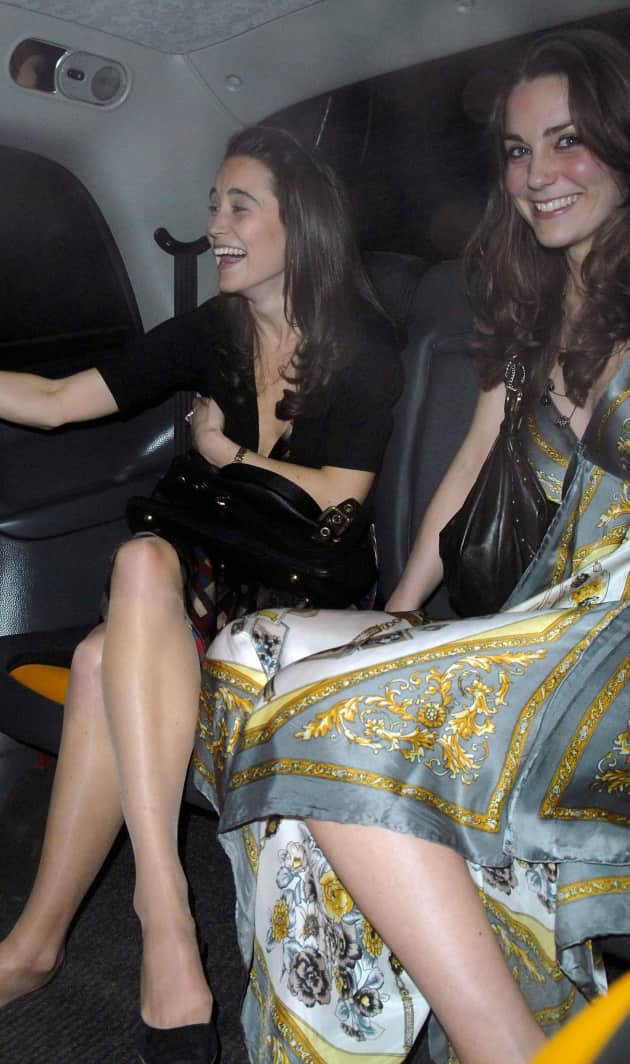 Kate and Pippa Middleton Photo