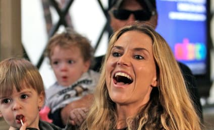 Brooke Mueller, Children Party Without Charlie