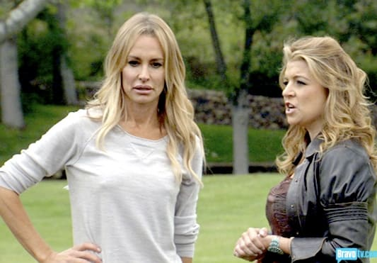 Taylor Armstrong and Dana Wilkey