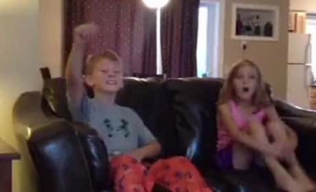 Kids React to Disney Surprise: YES!