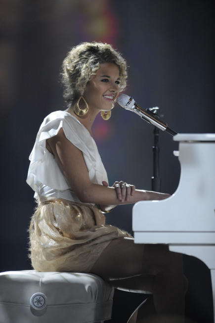 At Her Piano
