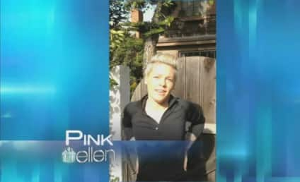 Pink & Daughter Willow Wish Ellen Happy Birthday!