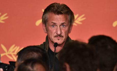 Sean Penn: The Last Face Press Conference In Cannes, France