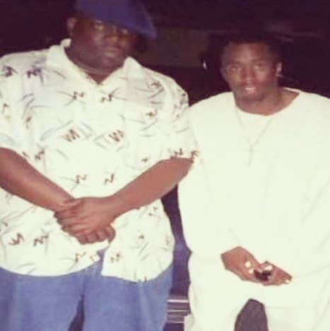 Notorious BIG and Puff Daddy