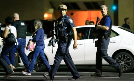 Dallas Shooting Scene