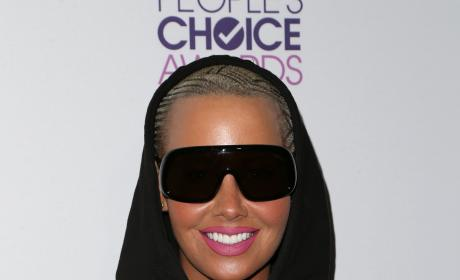 Amber Rose in Shades