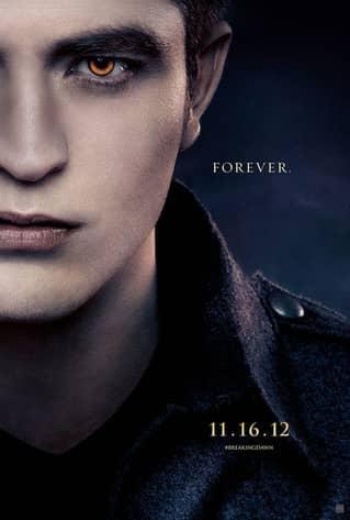 Robert Pattinson Breaking Dawn Poster